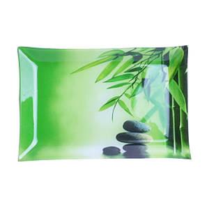Блюдо S&T Зеленый бамбук прямоугольное 30 х 20 см. 380