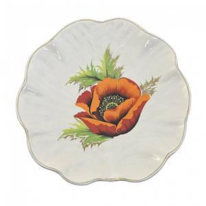 Блюдо Декор Керамика Капуста 200 мм. 0824