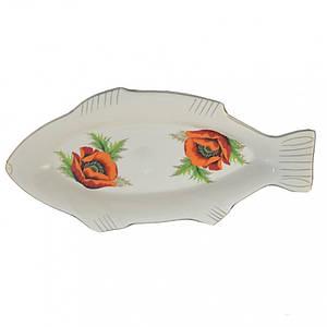 Блюдо Декор Керамика Щука 50 см. 0864