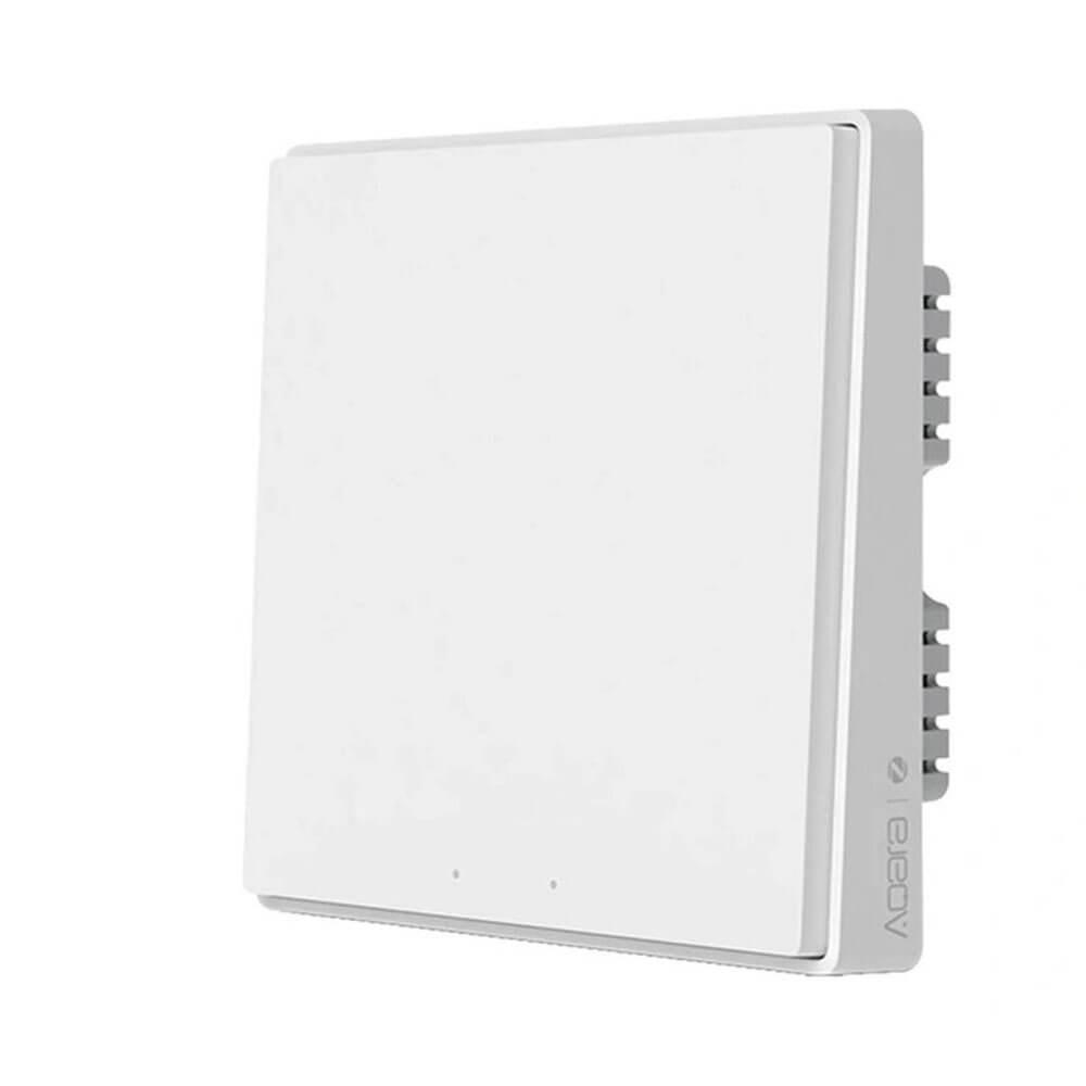 Выключатель Aqara Light Switch D1 ZigBee 3.0 (2 кнопки) white QBKG22LM