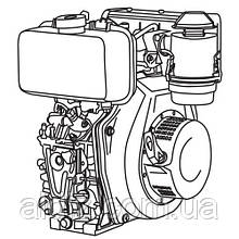 Двигатель дизельный Vitals DM 12.0sne