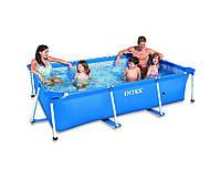 Intex 28270, каркасный бассейн 220 x 150 x 60 см Rectangular Frame Pool
