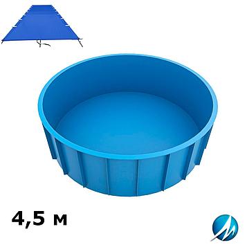 Поливиниловое накрытие для полипропиленового круглого бассейна 4,5 м