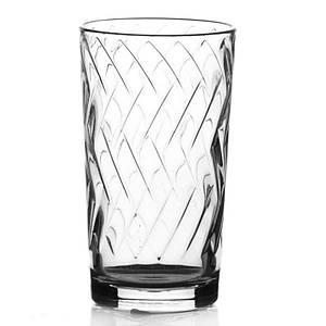 Набір склянок Helios Етюд 230 мл 6 шт 8318