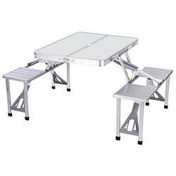 Стол раскладной для пикника Picnic Table 7115, серый