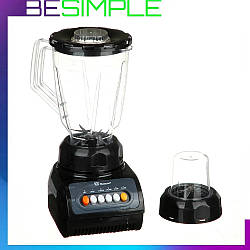 Блендер стаціонарний Domotec MS-9099 зі скляною чашею