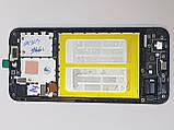 Рамка дисплея Samsung Galaxy A20E / A202 / A202F (2019) black orig, фото 2