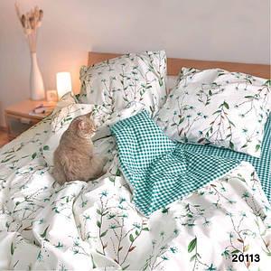Комплект постельного белья Viluta Ранфорс Евро 20113