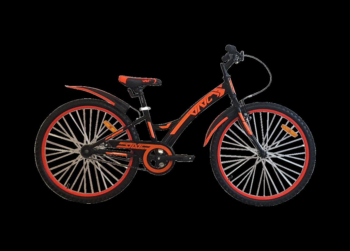 """Велосипед VNC Ranger AC 24"""" (11"""") 2021 Orange Ranger AC 24"""" XXS (280мм/11"""") Orange"""