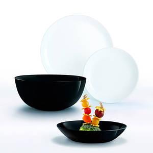 Сервиз столовый Luminarc Diwali Black & White из 19 предметов P4360