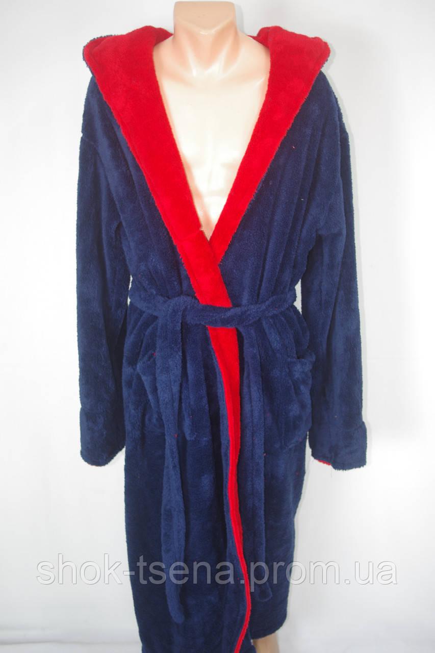 Мужской  халат махра с капюшоном  на запах - Оптово-розничный магазин одежды и товаров для дома в Хмельницком