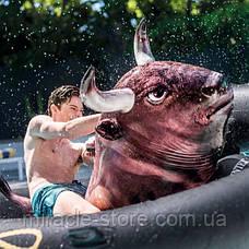 Водный надувной игровой центр Intex Надувной бык Родео 239 x 196 x 81 см Интекс, фото 2