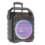 Колонка акумуляторна з радіомікрофонами UF-983 / 120W (USB/FM/Bluetooth), фото 2