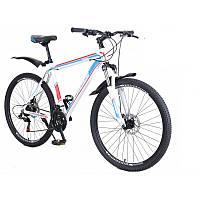 """Дитячий велосипед Cross Hunter  24"""" біло-блакитний"""