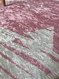 """Безкоштовна доставка! Килимок в дитячу """"Зірки на рожевому"""" 100х160см., фото 7"""