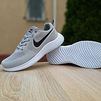 Сірі текстильні кросівки Nike Zoom Pegasus | В'єтнам | текстиль в'язка + піна, фото 1