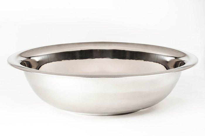 Миска Empie нержавеющая круглая 55 cм. 18 л. 1848