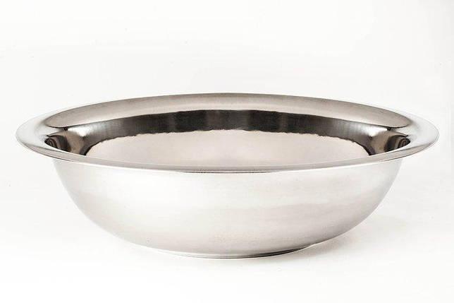 Миска Empie нержавеющая круглая 55 cм. 18 л. 1848, фото 2