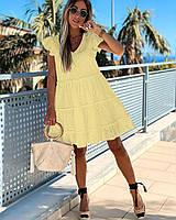 Женское летнее платье прошва в больших размерах