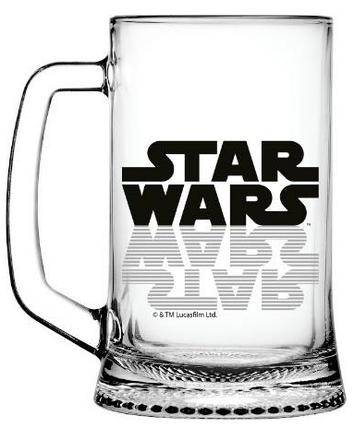Набір кухлів для пива ОСЗ Ладья Star Wars Logo 500 мл 2 шт. 02с1008-36 ДЗ У SW Logo, фото 2