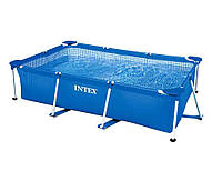 Intex 28271, каркасный бассейн 260 x 160 x 65 см Rectangular Frame Pool