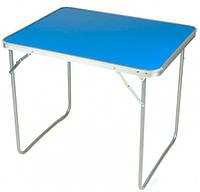 Туристический раскладной усиленный стол чемодан для пикника и рыбалки, кемпинга Stenson (MH-3089L)