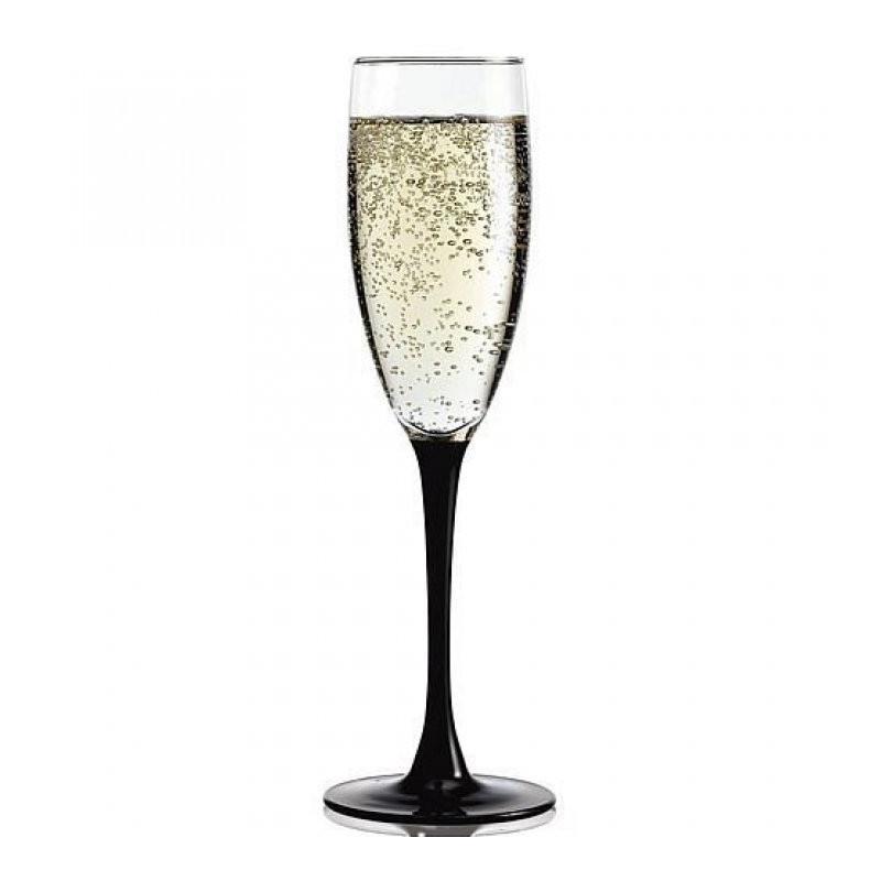 Набор бокалов для шампанского Luminarc Domino 170 мл H8167