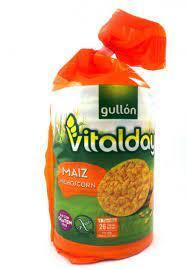 Хлібці Gullon Tortitas Maiz sin Gluten 130г