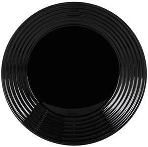 Тарілка Luminarc Harena кругла 23 см Black L7610