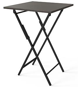 Стол складной Ferrumon черный/венге ТМ ARTinHEAD