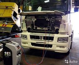 Диагностика кондиционеров грузовых автомобилей