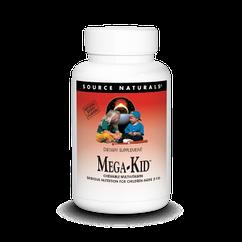 Source Naturals Mega-Kid Chewable Multi-Vitamin, Дитячі вітаміни (30 шт.)