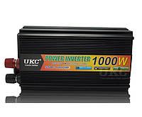 Преобразователь инвертор UKC 12V-220V 1000W