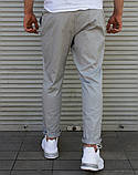 Чоловічі літні брюки сірі Сл 1837, фото 3