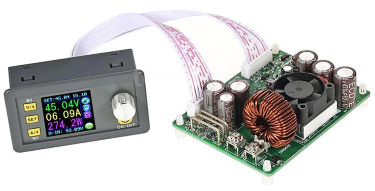 DPS5020 програмований, понижуючий стабілізатор, ЛБП 50В 20А