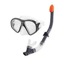 Маска для плавания, набор Intex Reef Rider Swim Set 55648