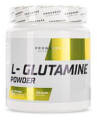 Progress Nutrition L-Glutamine powder, Глутамін (300 гр.)