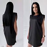 Женское платье летнее с подплечниками, фото 4