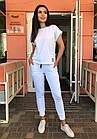 Спортивный костюм женский NOBILITAS 42 - 48 салатовый трикотаж (арт. 21021), фото 4