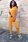 Спортивный костюм женский NOBILITAS 42 - 48 салатовый трикотаж (арт. 21021), фото 6