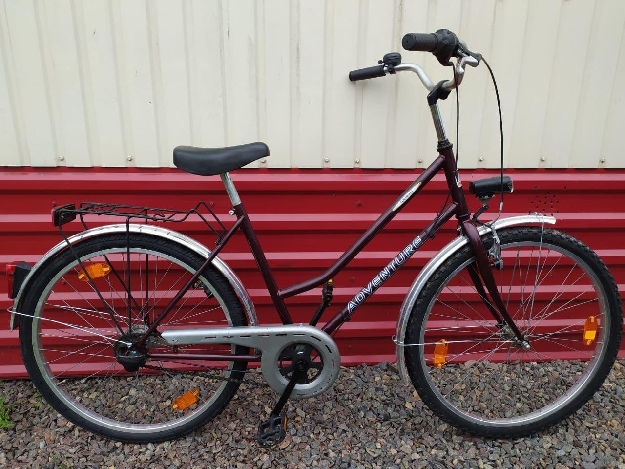Велосипед бу из Германии  ADVENTURE на планетарке Sachs 26/5