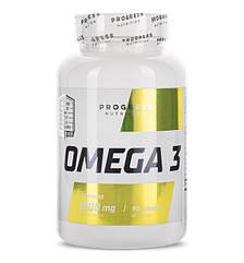 Progress Nutrition Omega 3, Омега-3 жирные кислоты (90 капс.)