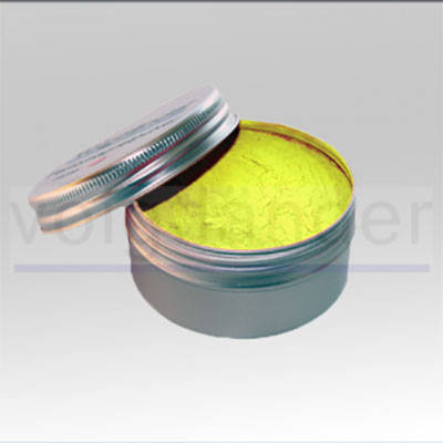 Флуоресцентний магнітний порошок «Жовтий», фото 2