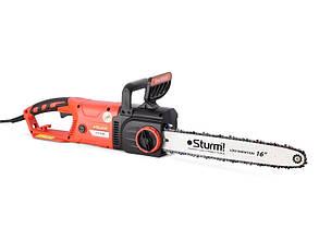 Пила ланцюгова електрична (2800 Вт, 405 мм, прямий двигун) Sturm CC9928S