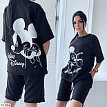 Костюм женский спортивный шорты и футболка на лето, фото 3