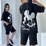 Костюм женский спортивный шорты и футболка на лето, фото 4