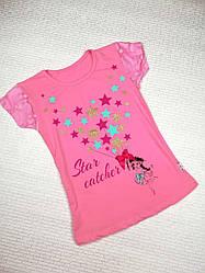 Футболка для девочки 9 лет, розовый