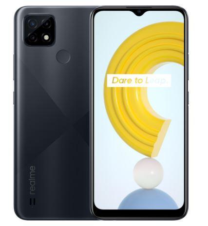 Смартфон Realme C21  4/64Gb NFC Black + чехол