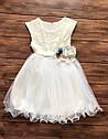 Нарядное детское платье на 5-8 лет, платье на выпускной в садик, фото 3