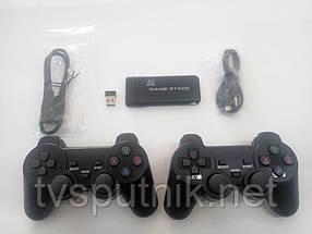 Беспроводная игровая консоль Game Console LITE RED 3500 Игр +32 Гб карта памяти (на 2 джойстика)